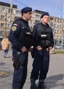 Jandarmi in misiune B.I. nr. 12.