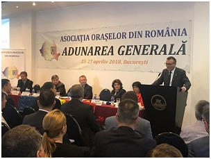 Vicepremier paul Stanescu- intalnire asociatia oraselor