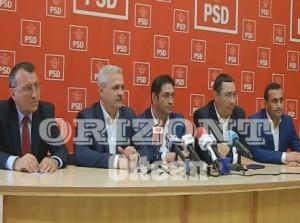 PSD- Conferinta de presa cu Liviu Dragnea si Victor Ponta- 05.05.2016W